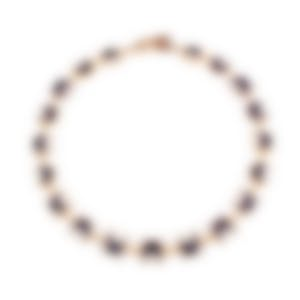Lulu Frost Verushka Riviera Onyx And Howlite Necklace LFSS18-114