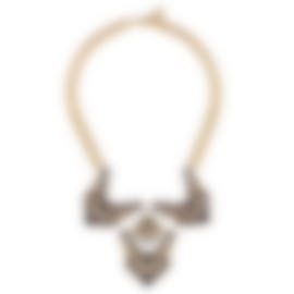 Image 1 of Lulu Frost Ventura Gold Bib Necklace LFSS18-139