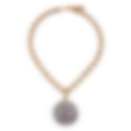 Image 1 of Lulu Frost Ladies Cupola Short Pave Crystal Pendant Necklace LFSS18-199