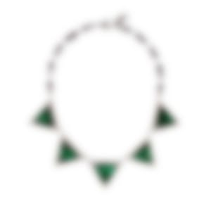 Lulu Frost Future Green Glass Necklace LFSS18-330