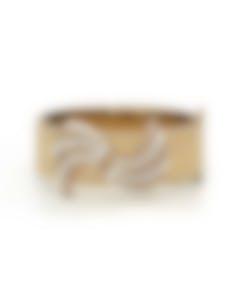 Lulu Frost Flourish Hinged Cuff Bracelet B174