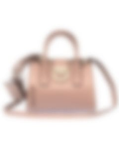 Ferragamo - Gancini Lock Doctor Bag Moss 21H144-694029